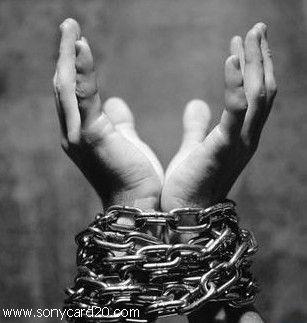 اسارت در بند گناه