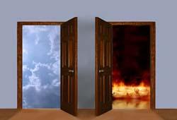 بهشت و جهنم چند درب دارد؟